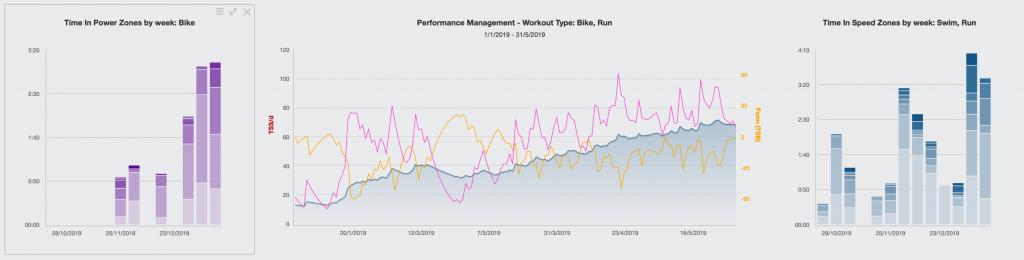 Training Peaks Graph